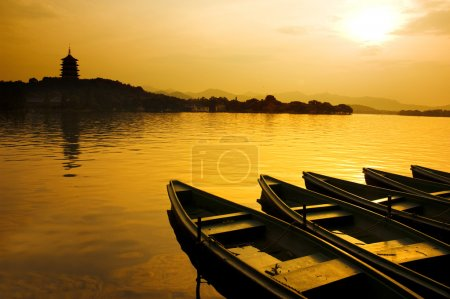 Photo for West lake in china - Royalty Free Image