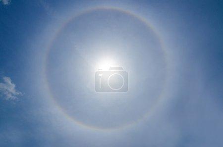 Halo Sun phenomenon (optical phenomenon)
