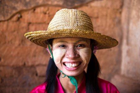 Casual myanmar girl