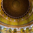 Interior view of dome of the rock, Jerusalem ,pale...