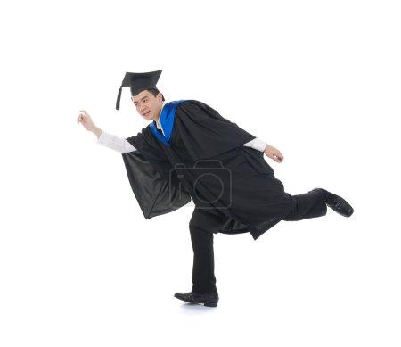 chinese university graduate rushing away into corporate world