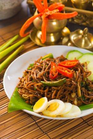 Asian fried noodle