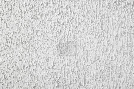 Texture of plaster stucco background, white wall, rough putty