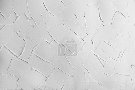White wall stucco plaster texture, background with right angles