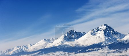 Dramatic peaks pinnacles snowy summits high altitude mountain pa
