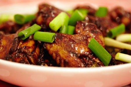 Asian caramel chicken wings