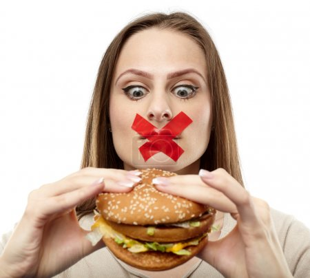 You may not eat junk food!