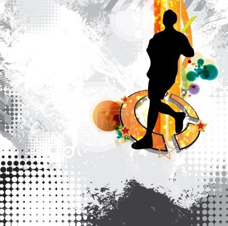 City sport. Runner