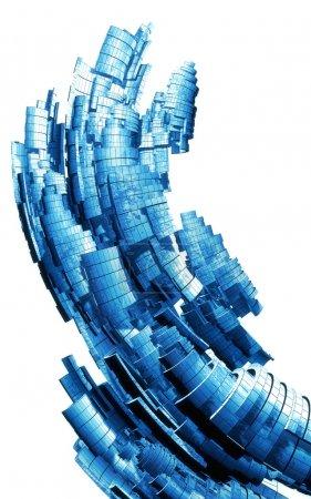 Photo pour 3d abstrait background design - image libre de droit