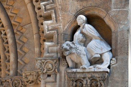 Jak Chapel Sculpture in Budapest