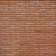 Solid brick wall...