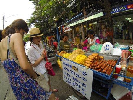 Street food shop