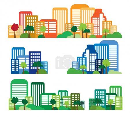 Illustration for Urban landscape - Royalty Free Image