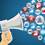US elections politic marketing communication: hand...