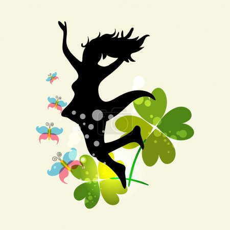 Spring Woman freedom