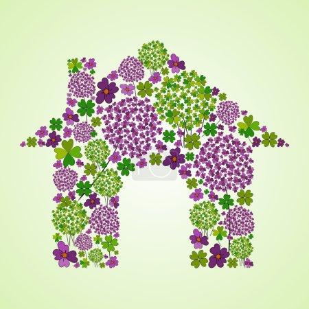 Spring house icon