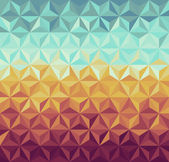 Colorful vintage hipsters triangle seamless pattern background Vector file layered for easy manipulation and custom coloring