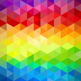 Trendy colorful vintage abstract triangle seamless pattern background