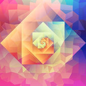 Colorful retro psychedelic optic art style seamless pattern background Vector file layered for easy manipulation and custom coloring
