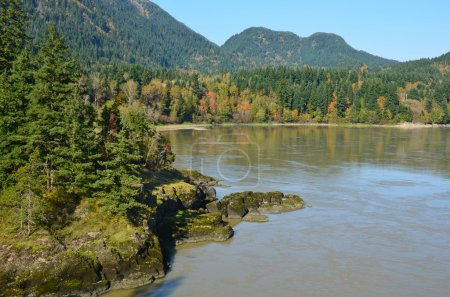 Fraser River in British Columbia, Canada
