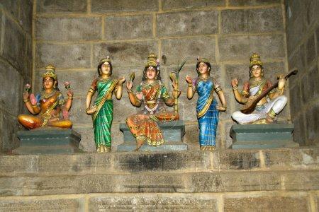 Lakshmi, Parvathi and Saraswathi