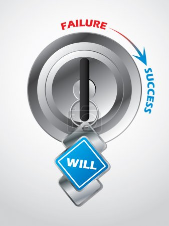 Access to success... the key is will