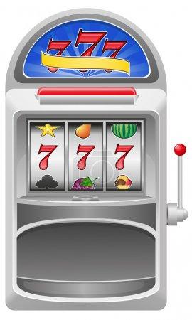 Slot machine vector illustration