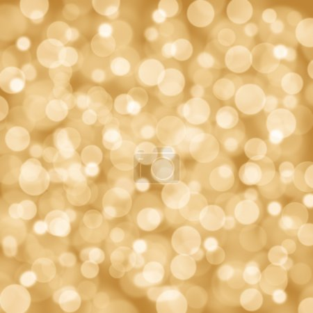 Photo for Christmas flavored golden glittery background. - Royalty Free Image