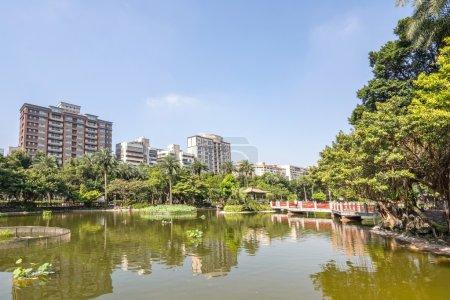 Photo for Emerald Lake, Sun Yat-Sen Memorial Hall, Taipei, Taiwan - Royalty Free Image