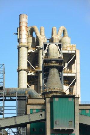 Cement plant, factory
