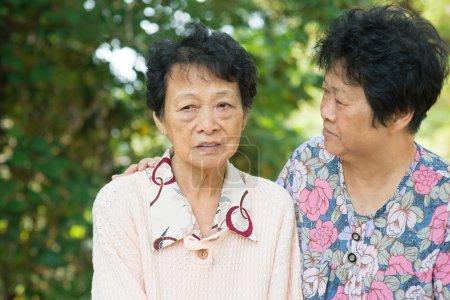 Asian senior women lifestyle