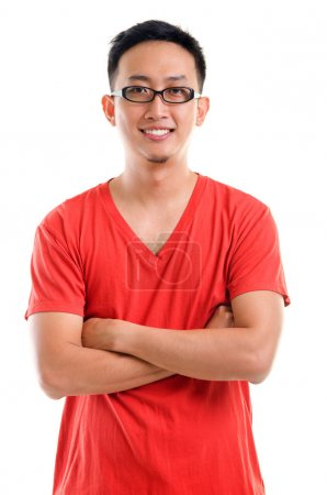 Portrait of young Southeast Asian man