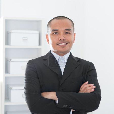 Asian Muslim business man