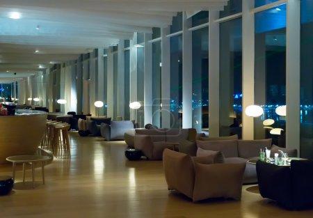 Photo pour Décoration d'un hôtel ou un hall d'accueil restaurant - image libre de droit