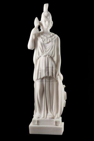 Photo pour Athéna, la déesse grecque de la sagesse, arts, artisanat, stratégie et guerre. elle a donné son nom à Athènes, et le célèbre Parthénon a été construit en son honneur - image libre de droit