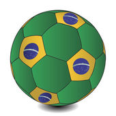 FIFA World Cup Brazil ball illustration