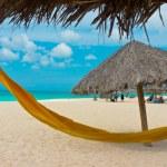 Постер, плакат: Beautiful beach in Aruba Caribbean Islands Lesser Antilles
