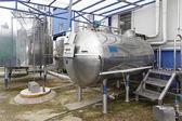 Installation de refroidissement de lait
