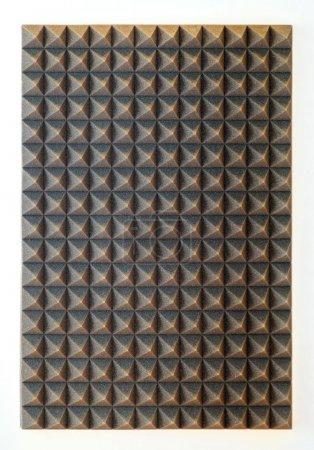 Foto de Aislamiento de esponja para estudio fonoabsorbente - Imagen libre de derechos