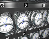 Nákup čas hodiny v automat s občerstvením