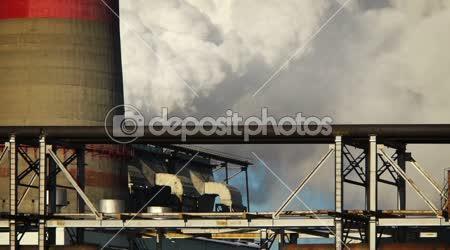 Uhlí hořící elektrárny