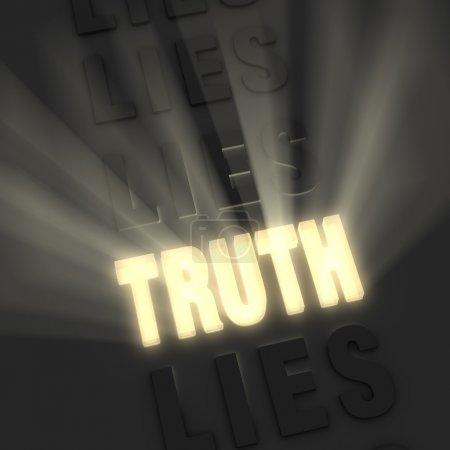 Brilliant Truth, Pale Lies