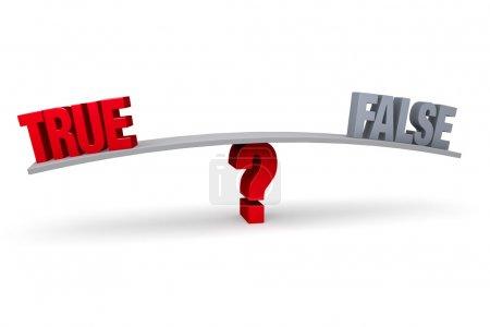 Choosing Between True and False