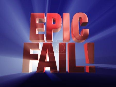 Fail Big Time!