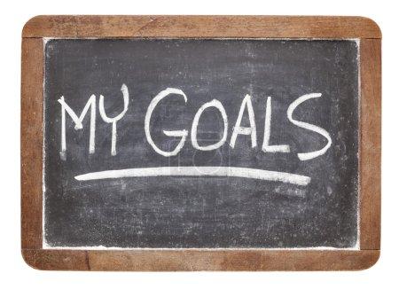 My goals on blackboard