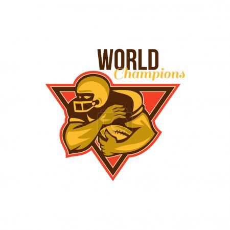 American Football Running Back World Champions