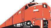 Diesel Train Retro