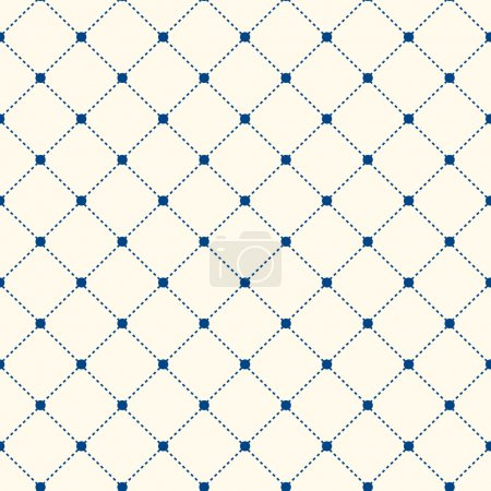 Stripe Seamless Pattern with Rhombus Structure. Ve...