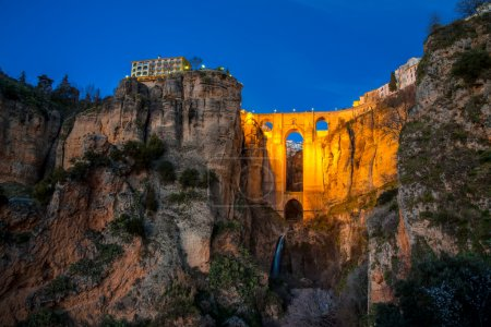 The village of Ronda in Andalusia, Spain.