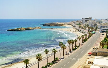Quay in Monastir, Tunisia
